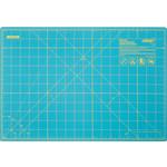 Olfa Snijmat - A3 - 12 inch x 18 inch - 1 Zijde bedrukt - Aqua