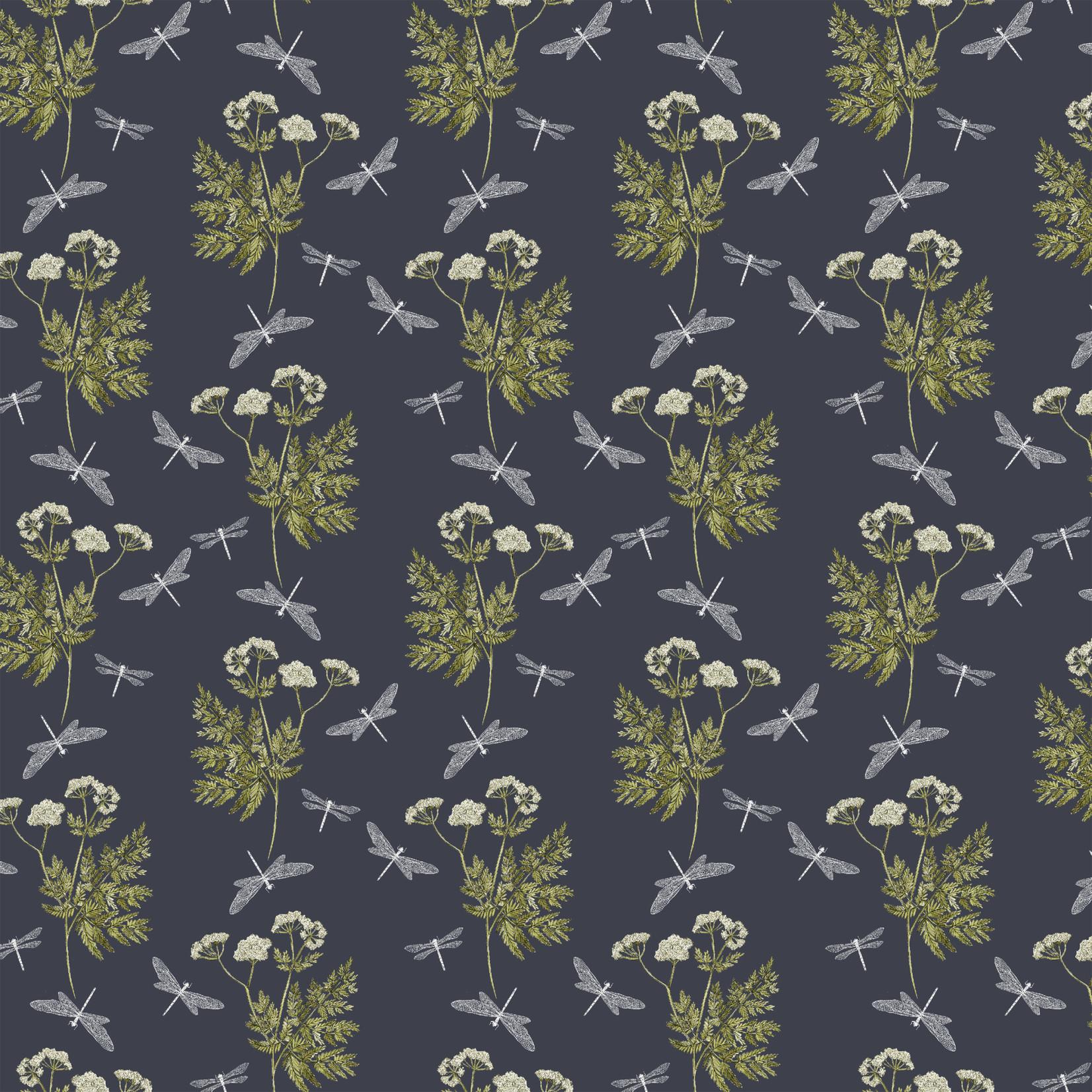 Windham Fabrics Midsummer - Dancing Mayfly - Graphite
