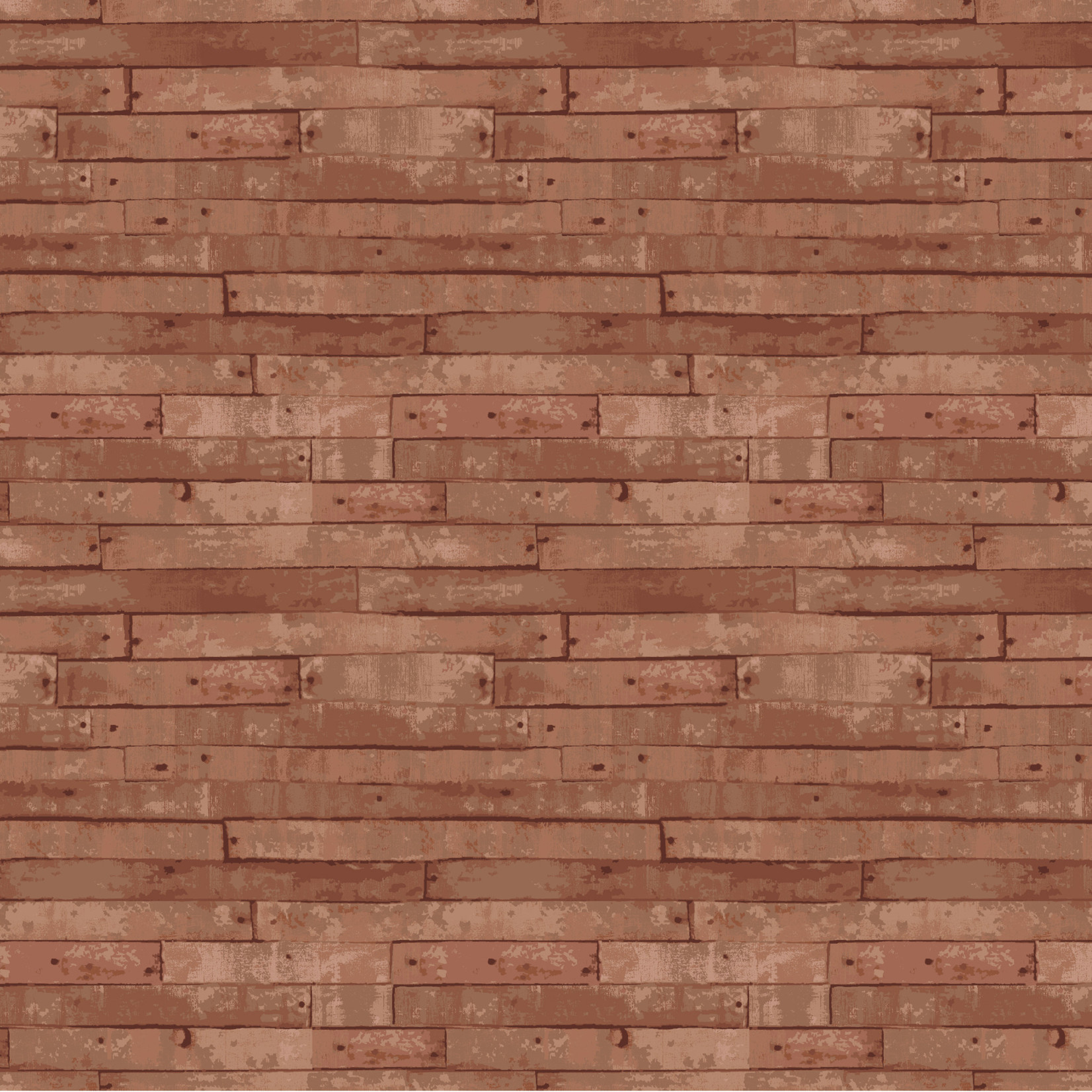 Windham Fabrics Certified Delicous - Wood Planks - Walnut