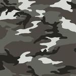 Windham Fabrics Camo - Woodland Camo - Grey