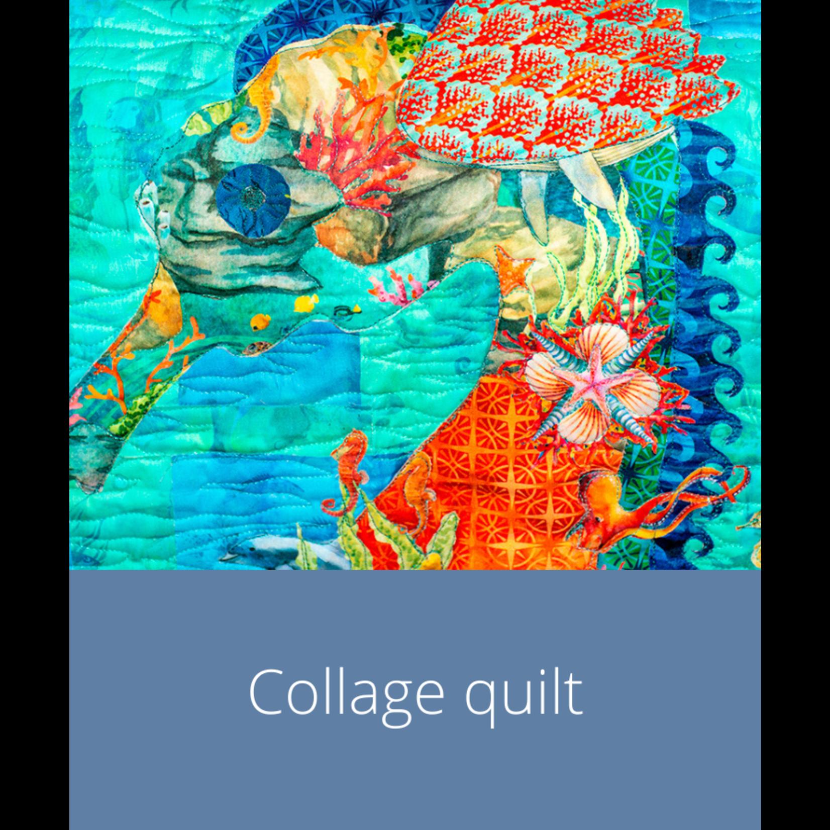 Cursus - Collagequilt   dinsdag 7 september