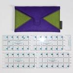 Karen Kay Buckley Liniaal - aanpasbaar - 3 inch x 24 inch
