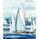 Northcott Sail Away - Blauw - Zeilboot - Groot