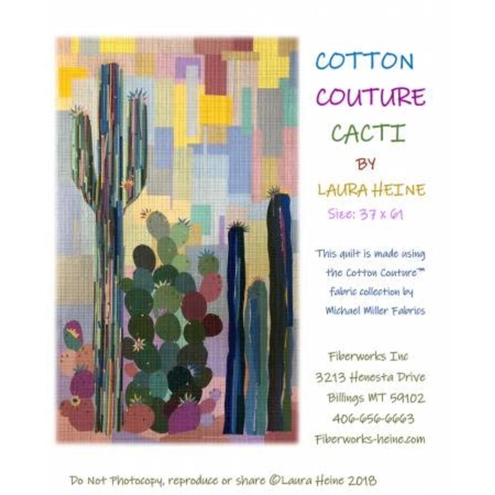 Patroon - Cotton Couture Cacti
