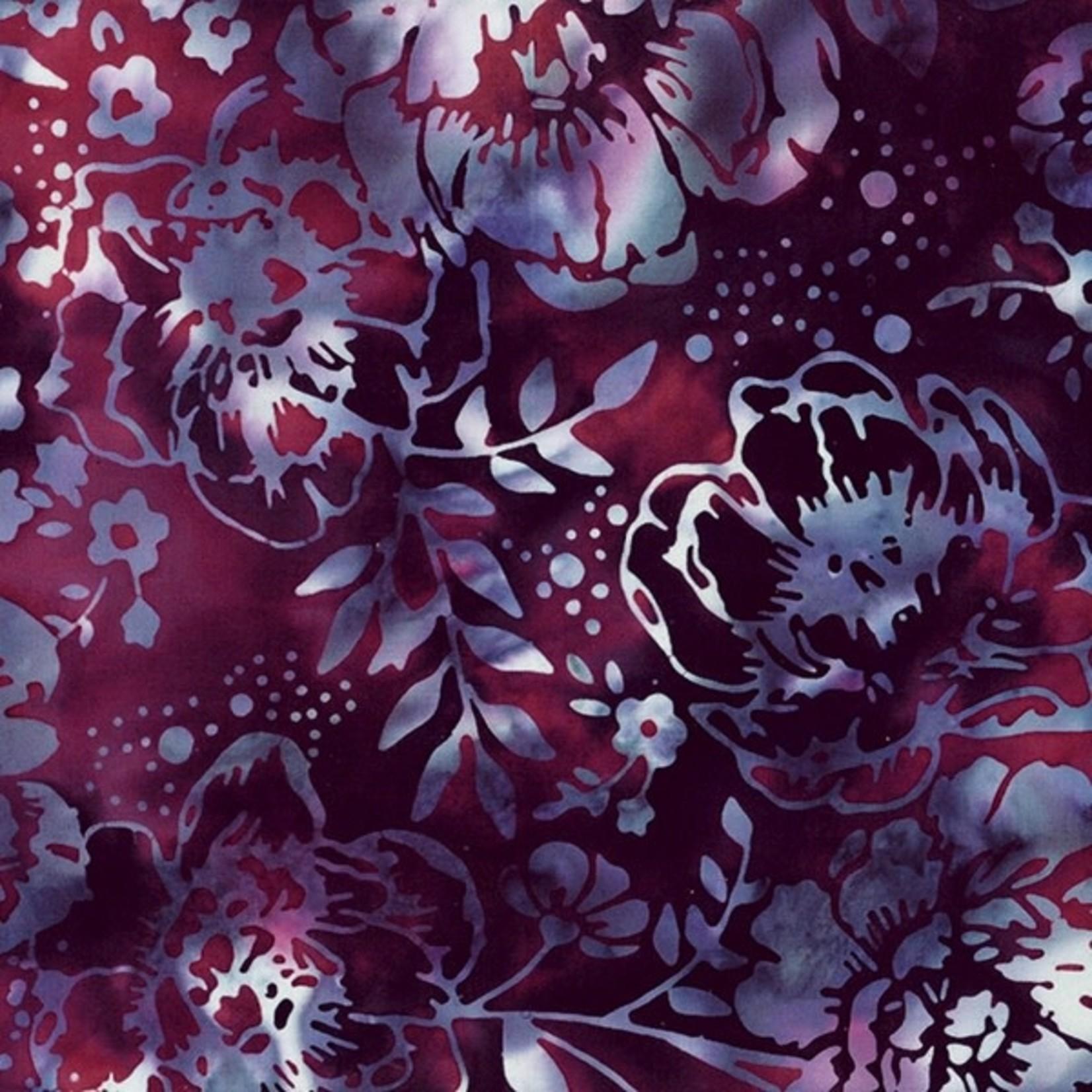 Hoffman Fabrics Bali Handpaints - Merlot