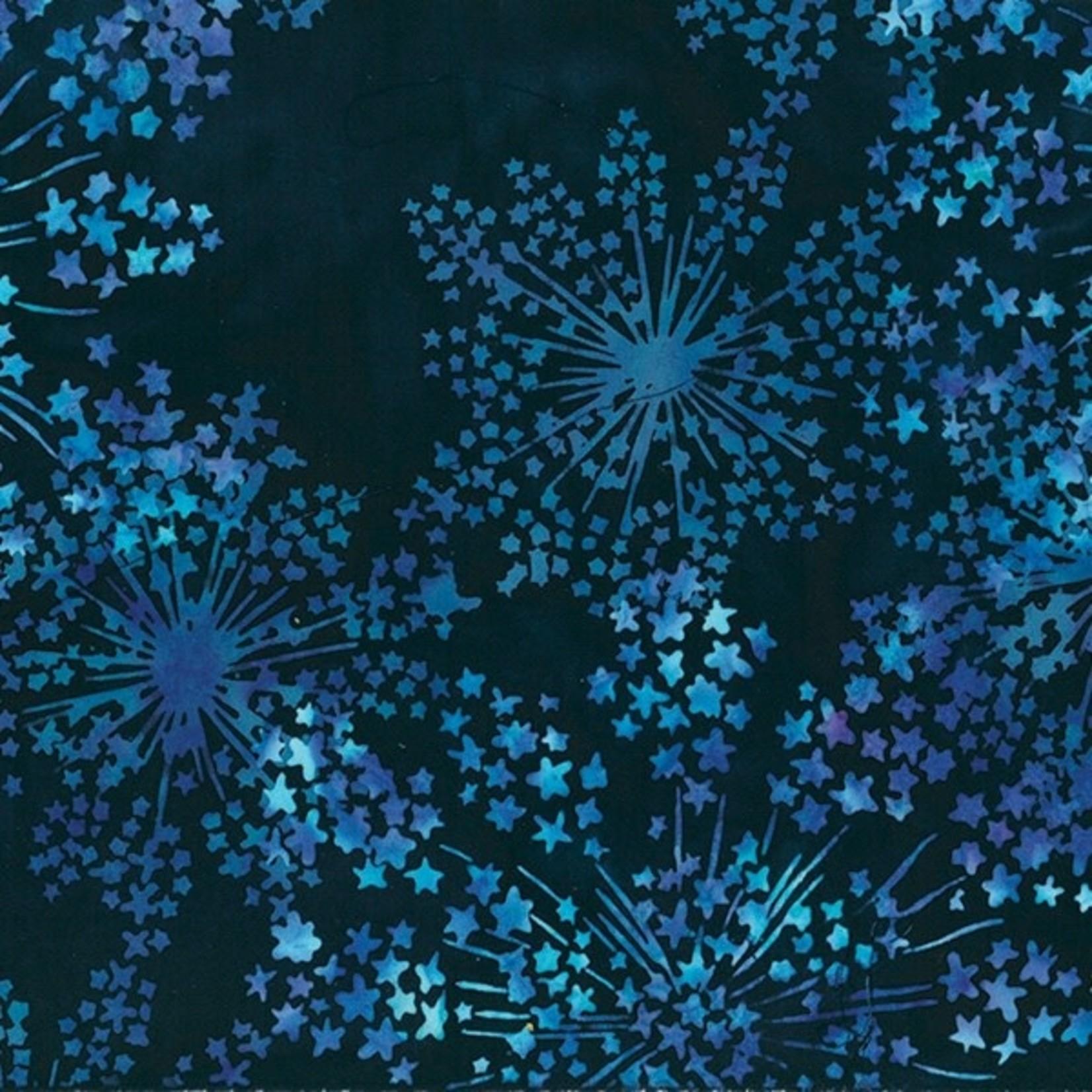 Hoffman Fabrics Bali Handpaints - Deep - Blue