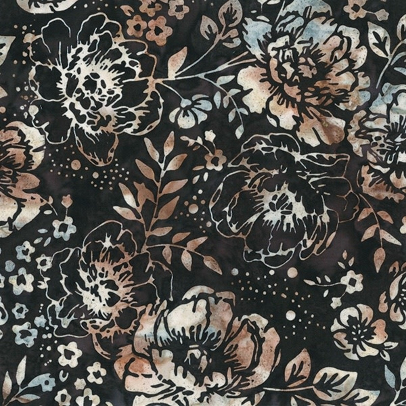 Hoffman Fabrics Bali Handpaints - Deep - Earth