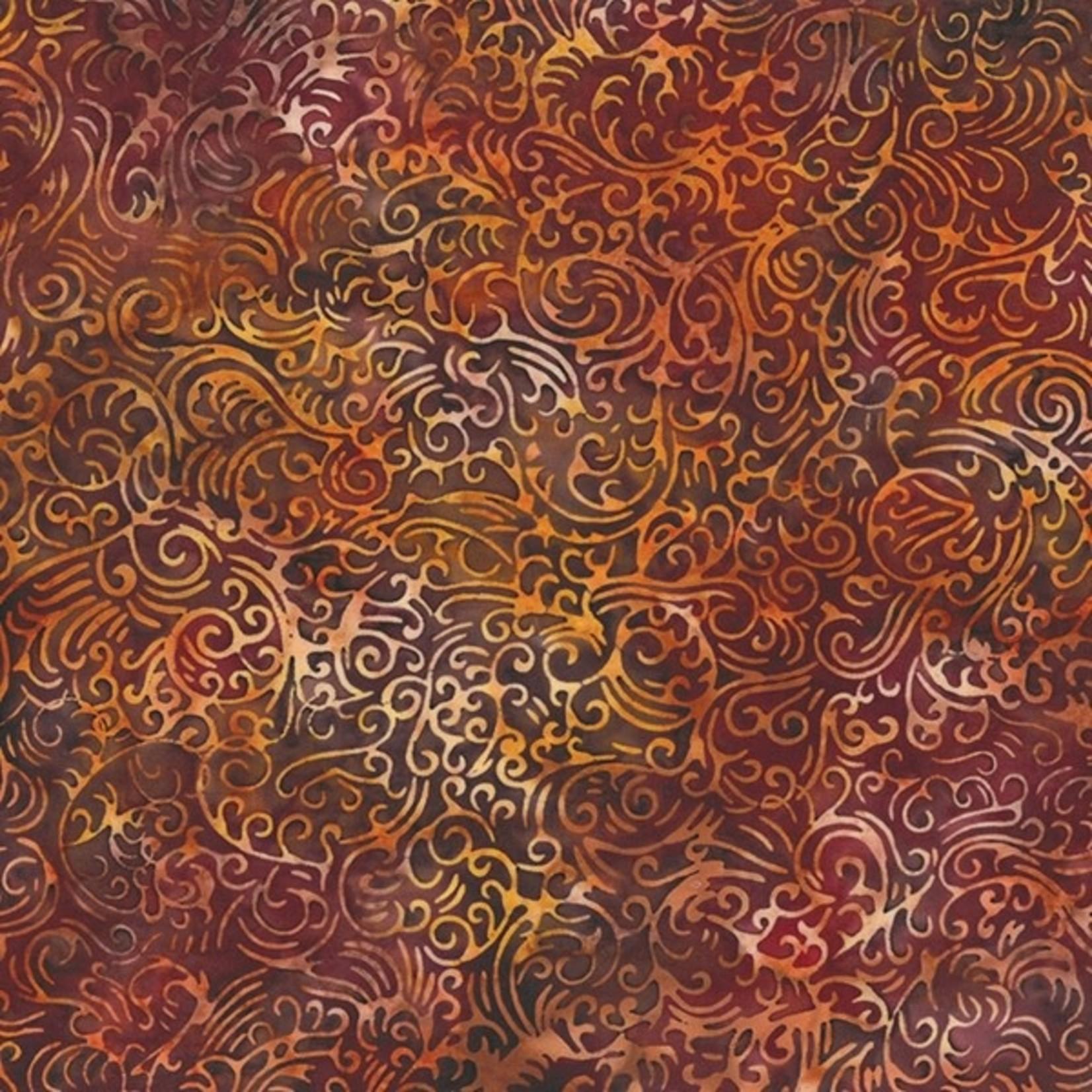 Hoffman Fabrics Bali Handpaints - Paprika