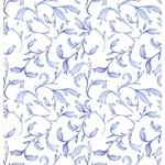 In the Beginning Fabrics The Patricia Collection - Sprigs - Purple