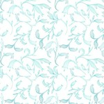 In the Beginning Fabrics The Patricia Collection - Sprigs - Teal