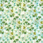In the Beginning Fabrics The Patricia Collection - Ivy - Green Teal
