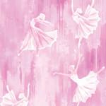 Contempo Studio Ballerina - Silhouette - Pink