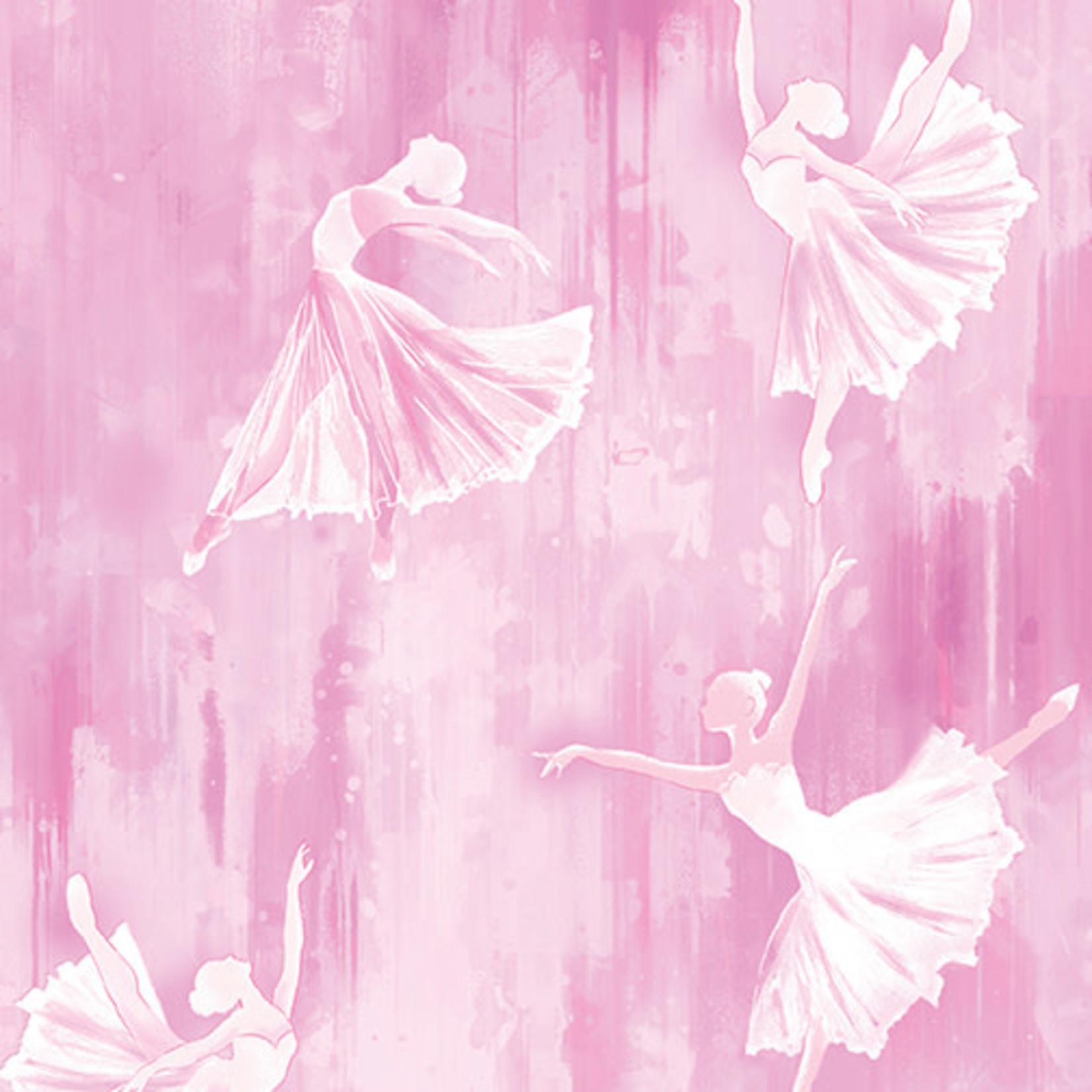 Contempo Studios Ballerina - Silhouette - Pink