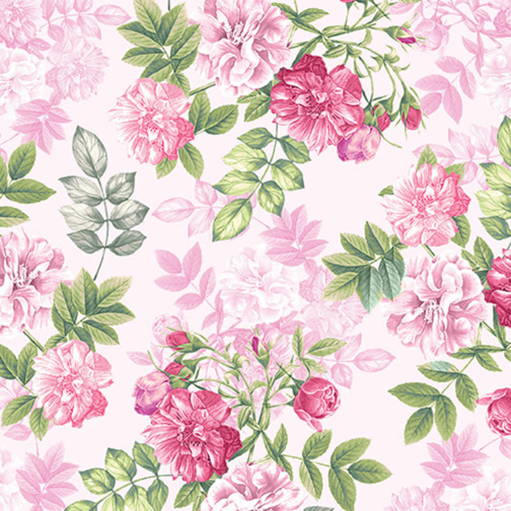 Contempo Studio Floral - Romance - Pink