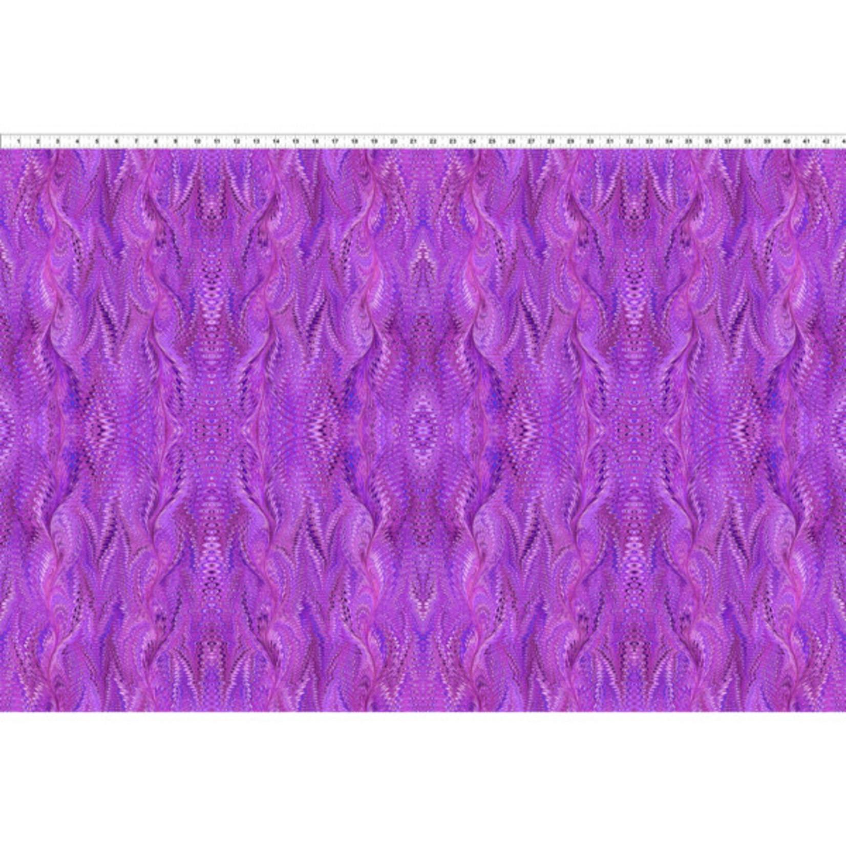 In the Beginning Fabrics Marble Essence - Milano - Magenta