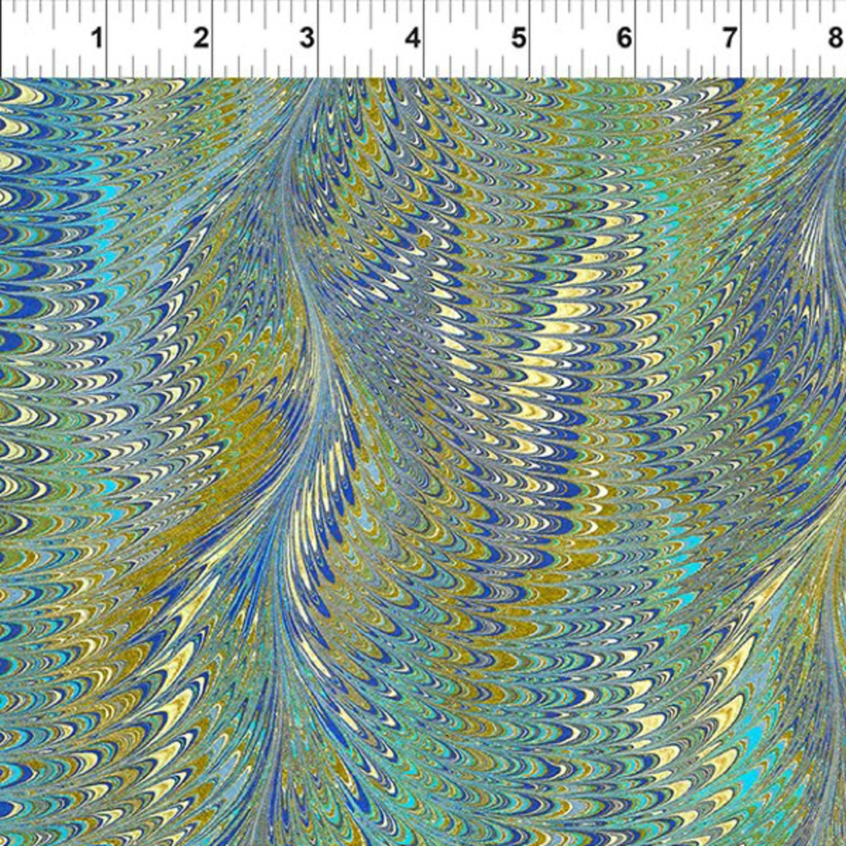 In the Beginning Fabrics Marble Essence - Milano - Pond
