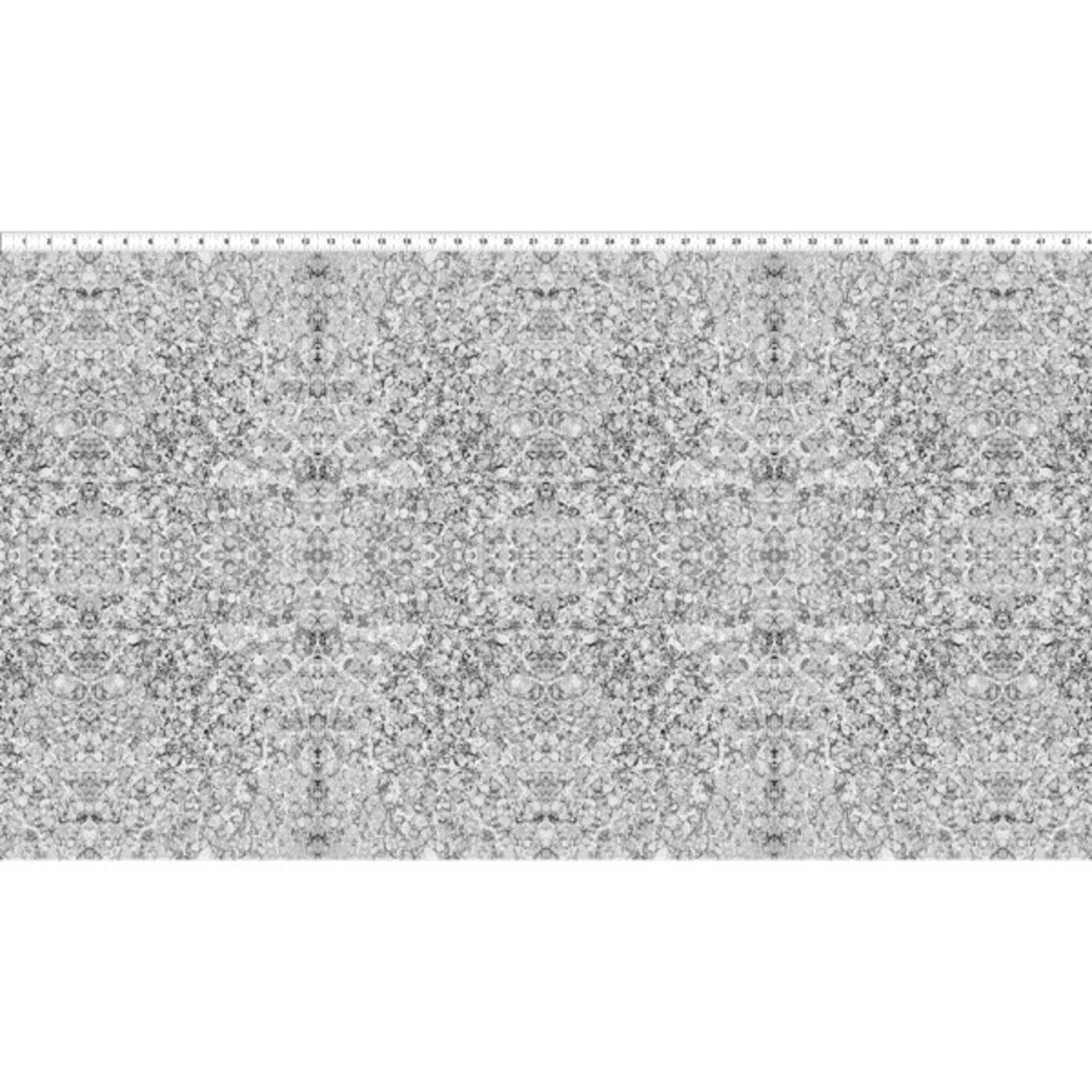 In the Beginning Fabrics Marble Essence - Napoli - Gray