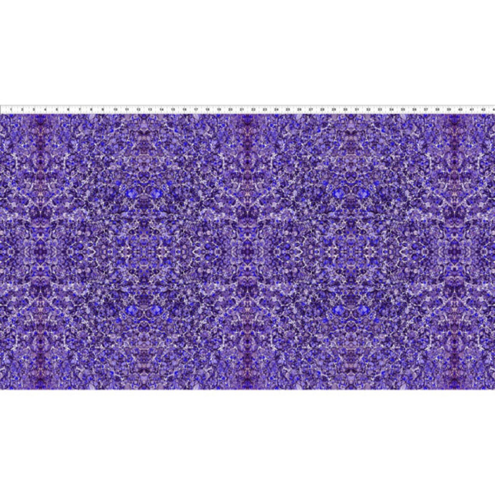 In the Beginning Fabrics Marble Essence - Napoli - Purple