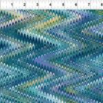In the Beginning Fabrics Marble Essence - Torino - Teal