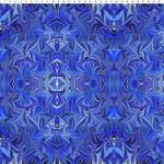 In the Beginning Fabrics Marble Essence - Genova - Royal