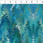 In the Beginning Fabrics Marble Essence - Florence - Aqua