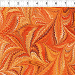In the Beginning Fabrics Marble Essence - Genova - Orange