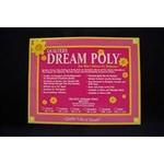 Quilters Dream Polyester - Dream Black - Van de rol (per 10 cm) 240 cm breed