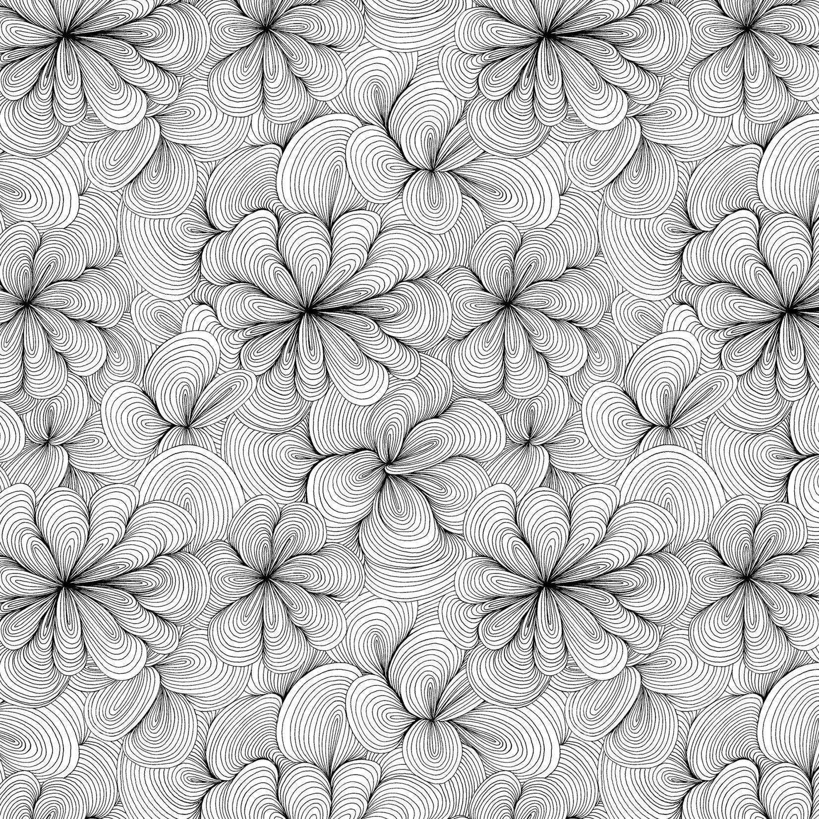 Windham Fabrics Home - Swirly - White