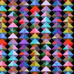 Windham Fabrics Prism - Kaleidoscope - Black
