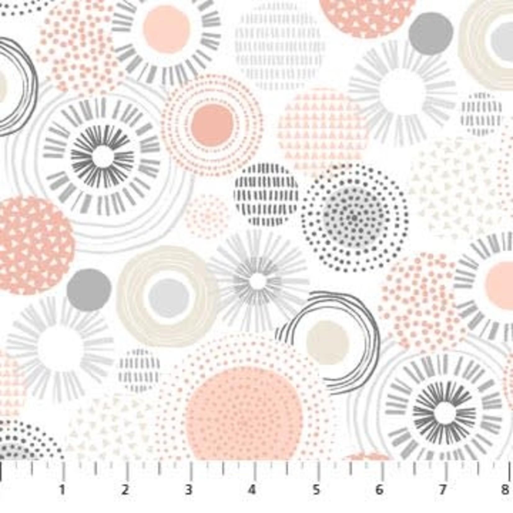 Northcott SOHO - 2248721 - Roze - Cirkels