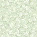 Benartex Winter Elegance - Holly & Berries - Light Green