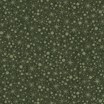 Benartex A Very Wooly Winter - Wooly Snowball - Green