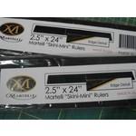 Martelli Skini - Mini Ruler - 2,5 inch x 24 inch