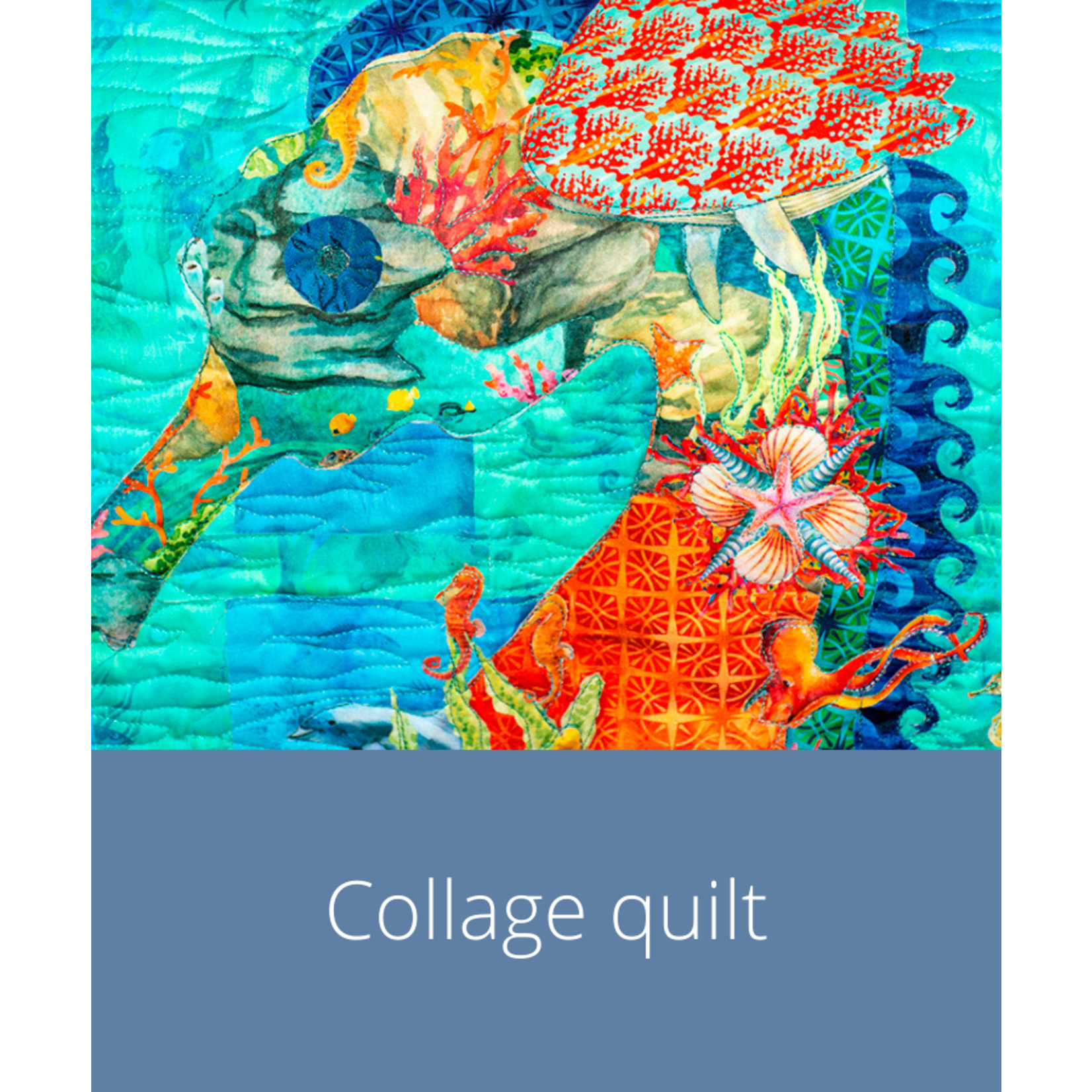 Cursus - Collagequilt   vrijdag 14  januari