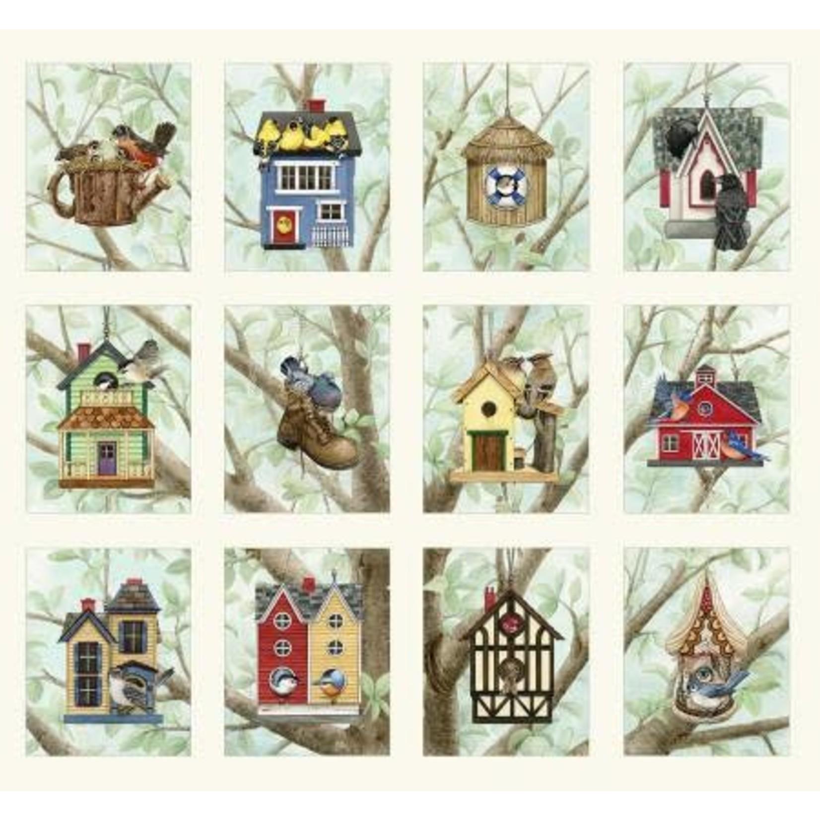 Beautiful Birds - Housing Boom - Kit - Top en Backing