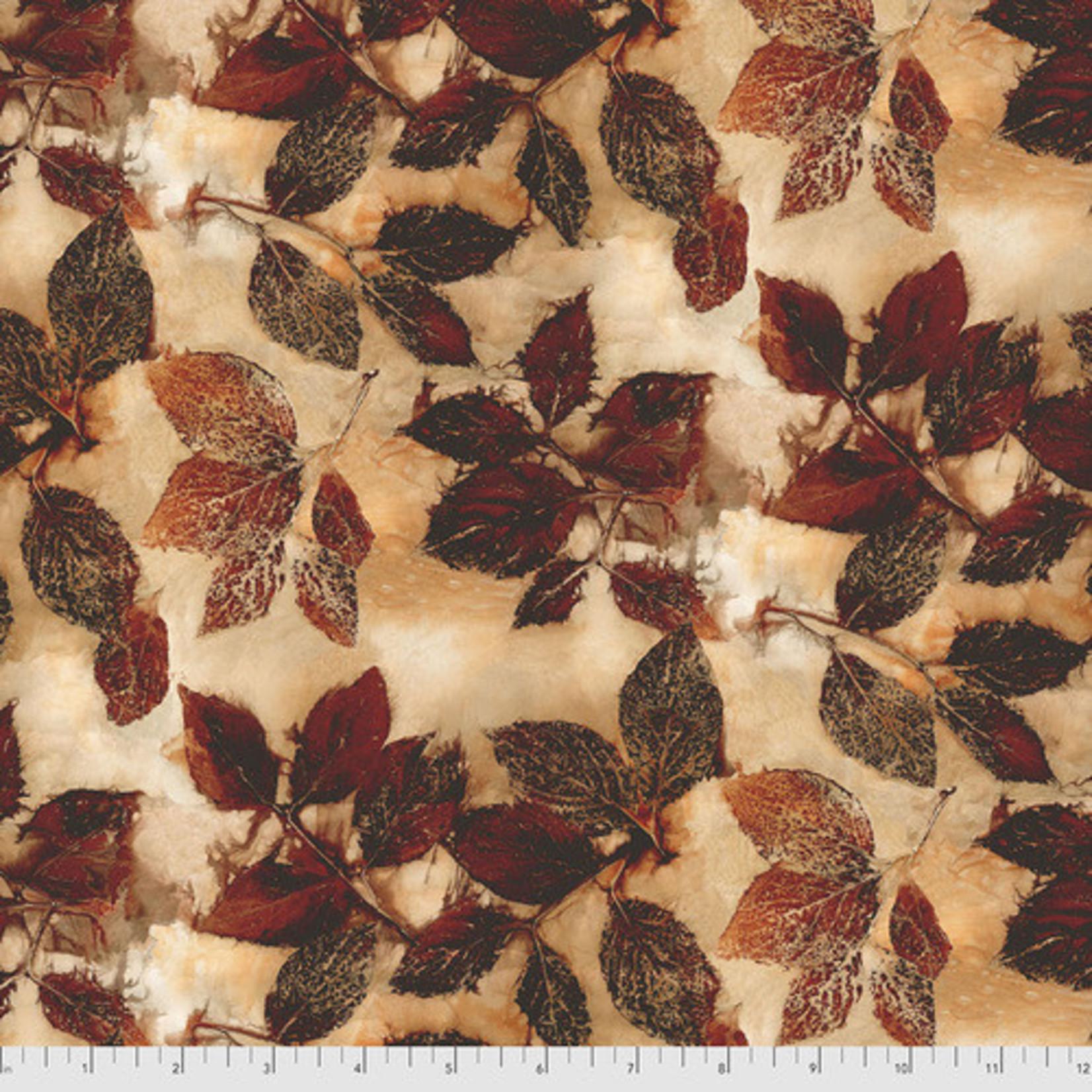 FreeSpirit Fabrics Katrinka - Redtwig Dogwood - Mahogany