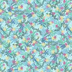 Studio E Fabrics Mermaid - in - Blue - Jeans - Seaweed - Aqua