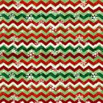 Studio E Fabrics Winterwood - Christmas - Green - Chevron