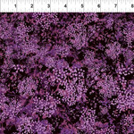 In the Beginning Fabrics Garden Delights - Baby Breath's - Fuchsia