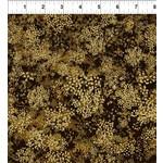 In the Beginning Fabrics Garden Delights - Baby Breath's - Gold