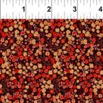 In the Beginning Fabrics Garden Delights - Petite Posies - Red