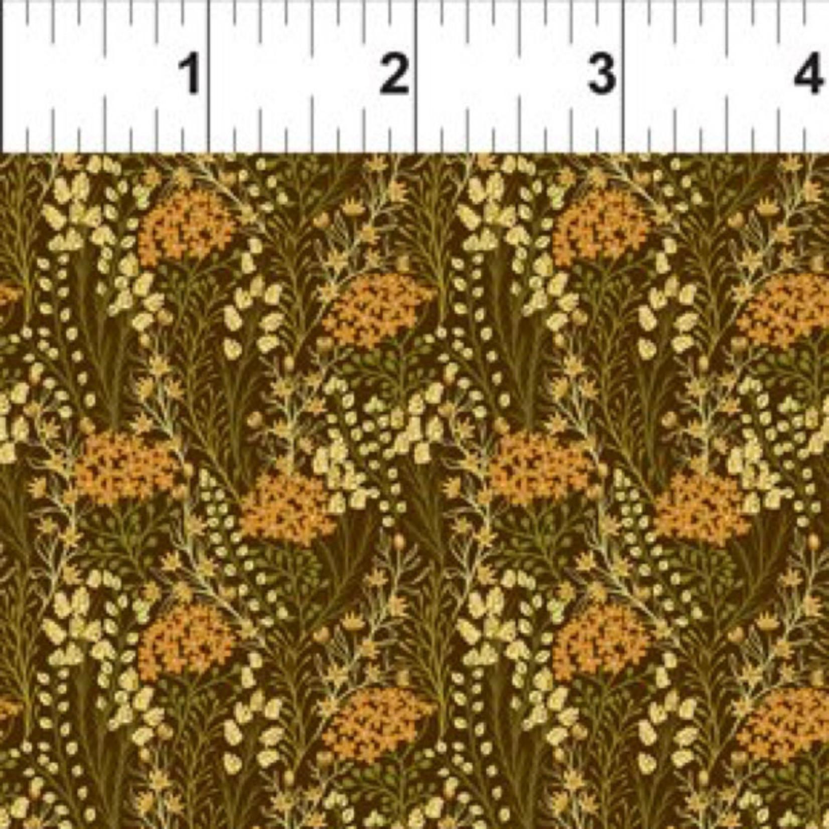 In the Beginning Fabrics Garden Delights - Prairie Flowers - Gold