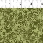 In the Beginning Fabrics Garden Delights - Tonal Floral - Green
