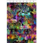 In the Beginning Fabrics Urban Jungle - Autos - Multi