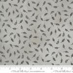 Moda Fabrics Janet Clare - Botanicals - Feathers - Vintage Grey