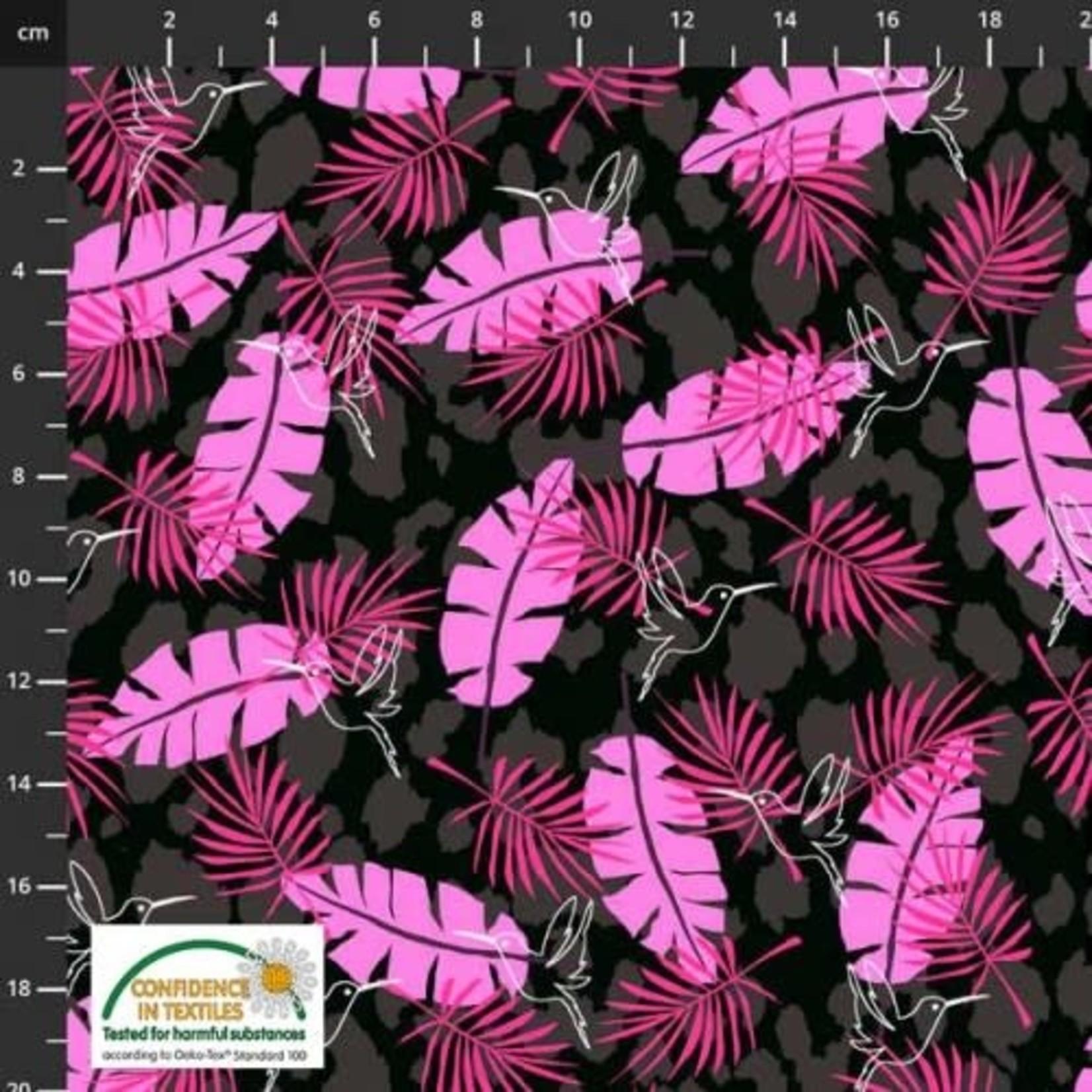 Stof Fabrics 4501-601 - Wild with the Wild - Black