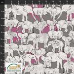Stof Fabrics 4501-602 - Wild with the Wild - Grey