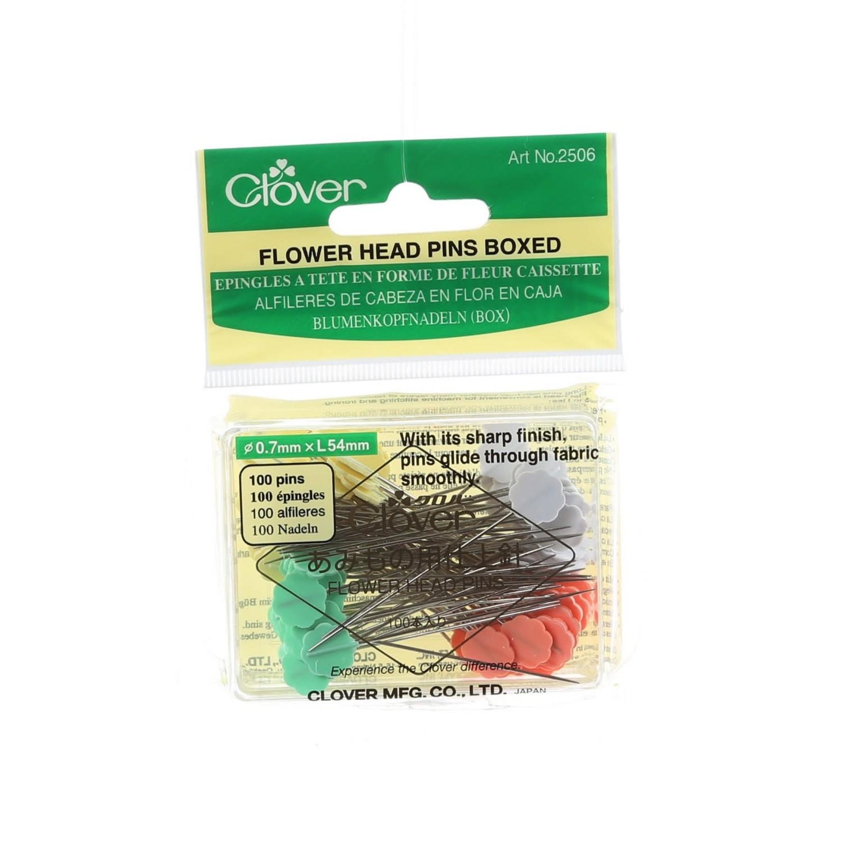 Clover Spelden - Flat Flower Pins - 54 mm - 100 stuks