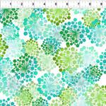 In the Beginning Fabrics A Groovy Garden - Dandy - Green