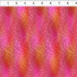 In the Beginning Fabrics A Groovy Garden - Texture -  Red